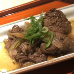 108366162 - 牛肉の時雨煮。味の因数分解は終了したので、明日、自宅で再現してみます(^◇^)