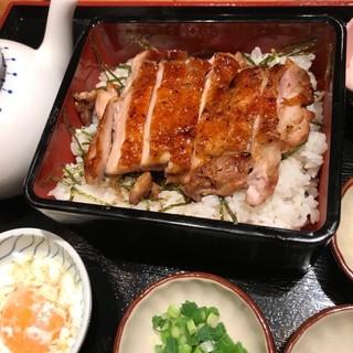 沖縄原産『やんばる鶏』の鶏ひつまぶし