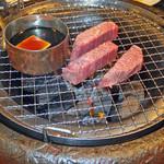 焼肉牛ヒレ - 牛ヒレ