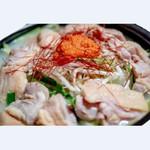 やんばる鶏の明太鶏鍋