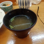 快積 八衛 - 味噌汁