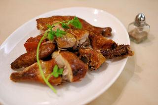 竹爐山房 - 竹爐コース:ヒナ鶏のスモークチキン