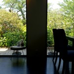 カフェ&ダイニング 桜moon - 店内からの景色も癒されます