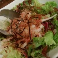 彩食酒蔵 おうか-大根梅サラダ 390円