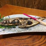 山びこ - 川魚の塩焼き(あまご)