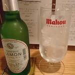 チキンマーケット シーサイド - ダイヤレモン(ノンアルコール炭酸)