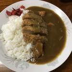 中華料理龍苑 - 料理写真:カツカレー¥600