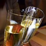 オテル・ドゥ・ミクニ - シャンパンで乾杯♪