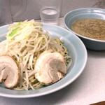 ラーメン - 【再訪】つけめん(野菜,味濃いめ)