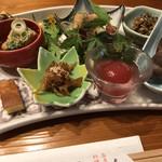 藤吉郎 - 前菜の盛り合わせ