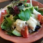 和食ながい - 生湯葉とアボカドサラダ