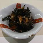 和膳と酒肴 廚 - 料理写真:お通しのひじき煮