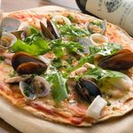 ピアンタ - 種類豊富なボリューム満点のピザ♪