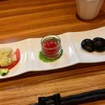 八兵衛 - 前菜3種盛り