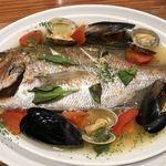 新鮮魚介・浜焼きとワインのお店 Fish Market - アクアパッツァ