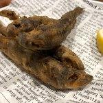 新鮮魚介・浜焼きとワインのお店 Fish Market - メヒカリの唐揚げ