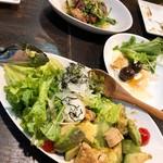 串サンロク - 【サラダ ¥980】