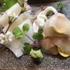 魚昌 - 料理写真:「活〆あいなめ刺身」「やりいか刺身」