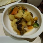 カフェ アンドナンド - 温野菜サラダ