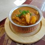 ガネーシャ - 初の長芋カレー