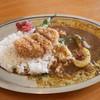 サンデー スパイス - 料理写真:カツカレー ハーフ