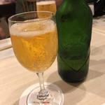 太閤うどん - まずはビールで