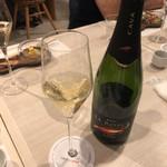太閤うどん - スパークリングワイン