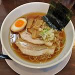 陣 - 鶏ガラ醤油ラーメン