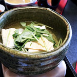 古泉閣 - 湯豆腐