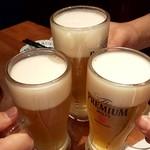 108420390 - 生ジョッキ380円(税別) 乾杯(^^♪