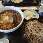 蕎亭松庵 - 釜揚げと割子2段