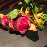 アジト 金山 - アンガス牛のステーキ