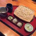 蕎麦食彩 さいとう - 料理写真:天ぷら蕎麦の蕎麦部分@1300円
