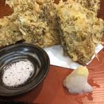 てっぺん - もずく天ぷら