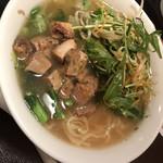 喜多方ラーメン 坂内 小法師  - 炙り味噌コロチャと10種の野菜ラーメン¥790-