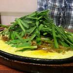 ジュー文華 - 料理写真:レバニラジュー横から
