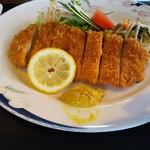 カフェテリア アメニティ - ロースカツ定食