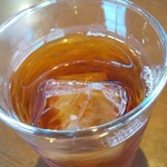 108435701 - ウーロン茶、グラス小さめ