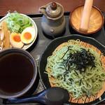 一刻魁堂 - 料理写真:柚子醤油つけ麺820円です
