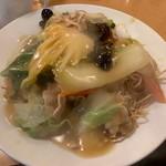 南海飯店 - かたい焼ソバ