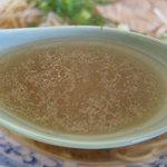 中華そば 蘭らん - スープアップ