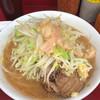 ラーメン二郎 - 料理写真:ラーメン ※梅しょうが、ニンニク少し、アブラ