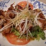 バーミヤン  - 大判油淋鶏。