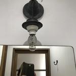 カフェ スワロー - お手洗いのSHISEIDOの鏡