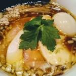 鶏そば  ムタヒロ - 鶏そばのスープが絶品です