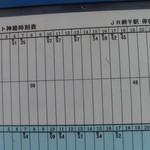 中華そば麦右衛門 - JR網干駅(バス)平日の時刻表