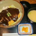 108454864 - デミカツ丼