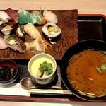 108456016 - おやじの天ぷらセット