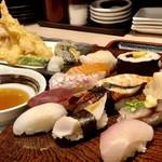 108456018 - おやじの天ぷらセット