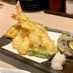 108456020 - おやじの天ぷらセット